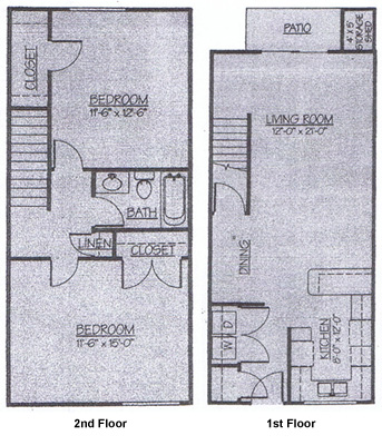 Manitou Woods Apartments > Two Bedroom Townhouse on townhouse apartment floor plans, patio townhouse floor plans, 2 bedroom house plans, three bedroom townhouse plans, one bedroom floor plans, basement townhouse floor plans, beach townhouse floor plans, loft townhouse floor plans, 2 story 3 bedroom floor plans, condo townhouse floor plans, luxury townhouse floor plans, 3-story townhouse floor plans, two-story townhome plans, furnished floor plans, efficiency floor plans, four bedroom floor plans, duplex townhouse floor plans, two floor house plans, three bedroom floor plans, 3-story small tower plans,